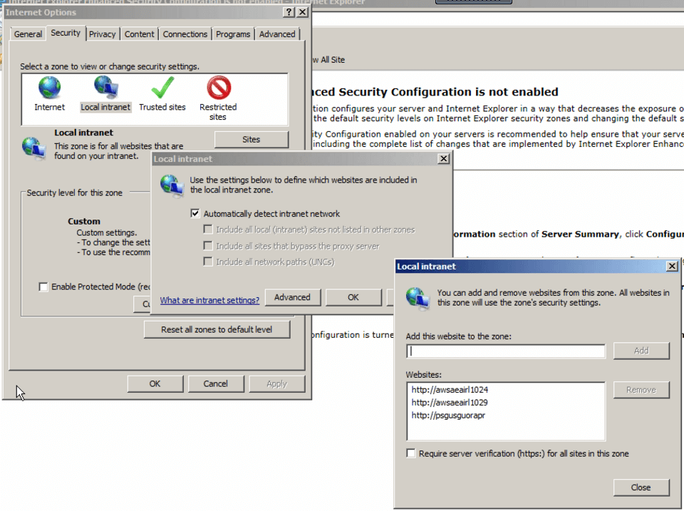Prevent login prompts when accessing SharePoint sites on